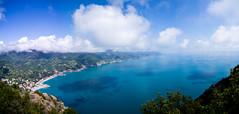 Cinque Terre (jp3g) Tags: ocean blue sea sky italy panorama panasonic cinqueterre g3 vernazza monterosso manarola riomaggiore corniglia