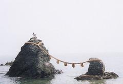 Married Rocks (Sunanda Chandry Koning) Tags: 2003 2002 sea white
