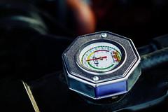 Gauge (Garret Voight) Tags: show old classic cars minnesota vintage bay engine dial retro american saintpaul gauge automobiles