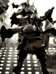 Sharkirate Toys (Diamond Geyser) Tags: toy soldier shark fight edinburgh doll pirate figure sword conga sailor creature