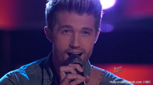 "Josiah Hawley ""Clocks"" – THE VOICE Live Show Night Two Video"