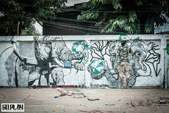 Bns , The Wall Japan x Thai 36 , goplay magazine (Goplay Mag) Tags: japan wall tmc thailand pain mural meeting limo bonus bakibaki rdio