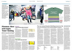 20130517Trouwtextiel.jpg (jeanpierrejans) Tags: newspaper journal trouw krant dagblad kranten publicaties