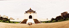 National Chiang Kai-shek Memorial Hall (ulanalee) Tags: travel film 35mm lomo xpro lomography crossprocessed asia horizon taiwan taipei  horizonperfekt