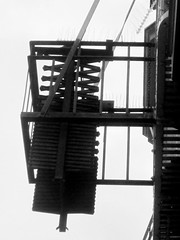 Abstract Building (shaire productions) Tags: urban blackandwhite bw abstract building geometric lines architecture buildings photo blackwhite downtown exterior image geometry picture pic structure line photograph abstraction imagery