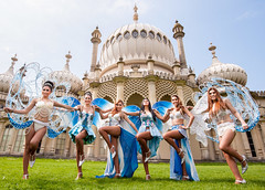 Tuesday May 7th 2013 The Lady Boys of Bangkok at Brighton Pavilion,Brighton, East Sussex, UK
