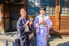 Traditional Japanese Girl (jerrylimlee/ pls visit: 500px.com/kiakka64) Tags: girl japan canon japanese tokyo osaka kimono 5dmk3