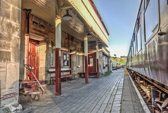 Cheddleton Station (Raven Photography by Jenna Goodwin) Tags: heritage history station train carriage rail railway steam line locomotive staffordshire cheddleton