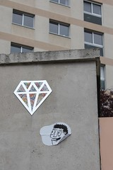 Diamant +..._4637 rue Corvisart Paris 13 (meuh1246) Tags: streetart paris paris13 diamant ruecorvisart lediamantaire
