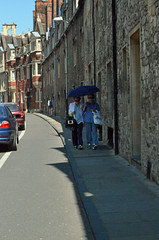 Street Scene (Arkensiel Photographs) Tags: street cambridge people cars umbrella unitedkingdom