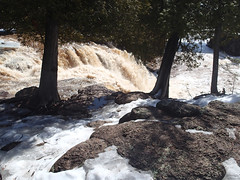 Gooseberry River spring runoff