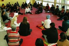 Clase de Yoga Kundalini - Junio 2013 (Corporacin de Deportes Pealoln) Tags: yoga kundalini pealoln polideportivosergiolivingstone