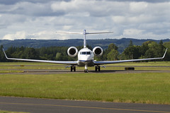 G650 (sabian404) Tags: cn plane private portland airplane airport qualcomm aviation g6 hillsboro gulfstream hio bizjet khio gvi 6017 g650 glf6 n886wt