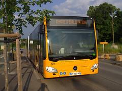 MERCEDES Citaro G C2 - 1351 - Ligne U - Terminus CHR Mercy (Πichael C.) Tags: bus mercedes transport vehicles le tc met c2 metz tamm moselle citaro 2013 communs tcrm