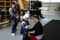 6 year old from Australia (NZONE Skydive) Tags: newzealand skydiving southisland queenstown skydive parachuting parachute tandemskydive tandemskydiving