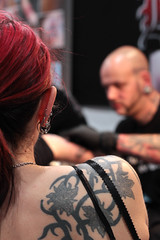 Tattoo Convention (na dine) Tags: tattoo germany convention piercings shoulder dortmund ttowierung schulter