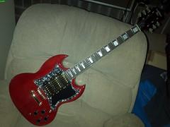 Blacksnake SG 1b (LoxPix) Tags: kent bass guitar workinprogress rick mandolin fender beatle crown custom gibson squire hofner epiphone fernandes teisco bowhunter