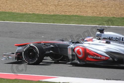 Jenson Button in the 2013 British Grand Prix