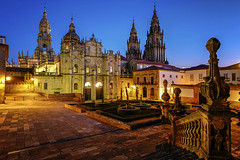 Cathedral, Santiago de Compostela, Camino de Santiago, Galicia, Spain. (pedro lastra) Tags: santiago españa st way de james camino jakobsweg caminodesantiago stjamesway