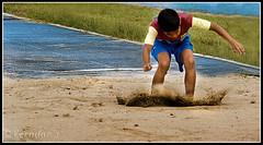 Uuuuuh Just Missed (VERODAR) Tags: boy sports jumping sand nikon trackandfield longjump fieldevent nikond5000 verodar veronicasridar