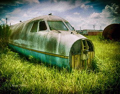 Abandoned Plane (sue.san) Tags: abandoned florida planes hdr olympusomd