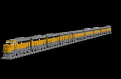 DRGW Zephyr (Hole521) Tags: rio train grande lego denver zephyr western passenger f7 drgw