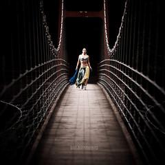 Out of the Dark (Ilko Allexandroff / イルコ・光の魔術師) Tags: bridge light portrait girl japanese natural shimane drama megumi 橋 島根 ilko yuzuki 光の魔術師 ドラマチック allexandroff イルコ 柚月恵 wordpresshomepage