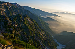 Receiving the morning light (Yoshia-Y) Tags: sunrise hakuba shirouma mtkaramatsu