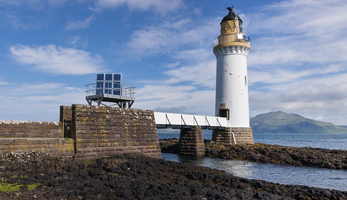 Rubha nan Gall lighthouse, Isle of Mull