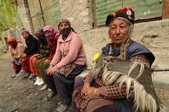 Curiosity (joydeep.focus) Tags: people women kashmir leh ladakh