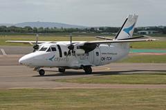 OK-TCA L-410-UVP-E City Wing (ChrisChen76) Tags: gloucestershire gloucester czechrepublic staverton l410 l410uvpe citywing