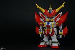 Bakunetsumaru - SD Gundam Force (Garivel) Tags: force sd samurai gundam blazing bakunetsumaru