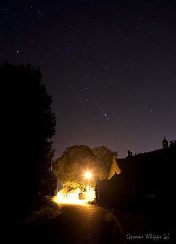 Orion over Chapel