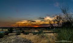 Atardecer Pozuelo de Alarcon (Javier Martnez Morn) Tags: madrid sunset de atardecer nikon carretera tokina1224 paisaje autopista 200 18 tamron pozuelo alarcon lightrails d7000
