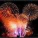 fireworks over seoul