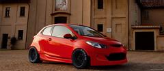 Rocketbunny Mazda 2 (Celica23) Tags: bunny car photoshop chopped rocket mazda rocketbunny