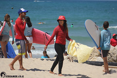 IMG_8809 (Streamer -  ) Tags: ocean sea people green beach nature students ecology up israel movement garbage sunday north group young cleanup clean teen shore bags  nonprofit streamer  initiative enviornment    ashkelon          ashqelon   volonteers      hofit