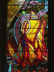 eel threading through pentecostal fire (Simon_K) Tags: church churches fen cambridgeshire eastanglia stanton fenstanton cambs hunts huntingdonshire