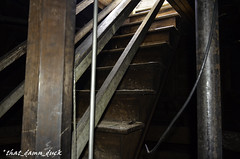 Nearing the Top (that_damn_duck) Tags: abandoned sc stairs southcarolina asylum mentalhospital urbex lunaticasylum urbanexplorer