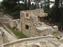 Palace of Knossos (Nelo Hotsuma) Tags: history archaeology bronze site europe palace greece age crete restored civilization archaeological mythology myth heraklion knossos minoan rebuilt reconstructed minos mycenaean