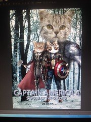 Just made one of my best friends' bday presents :) #happybirthday #birthday #bday #present #art #artist #illustration #photoshop #cs5 #graphics #graphicdesign #marvel #poster #captainamerica #thor #wintersoldier #cats #cat #meow #custommade #custom (kass_saleh) Tags: birthday cats art illustration cat photoshop poster graphicdesign graphics artist happybirthday present meow bday custom thor marvel captainamerica custommade wintersoldier cs5