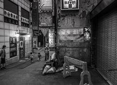 Seoul back street (Heychang) Tags: street city people asia korea seoul