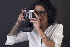 Werlisa star (BorjaiGlesias) Tags: light portrait girl chica retrato estudio 7d tatto werlisa tattoogirl werlisastar borjaiglesias