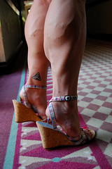 DSC_0262jj (ARDENT PHOTOGRAPHER) Tags: highheels muscular veins calves flexing veiny bodybuildingwoman