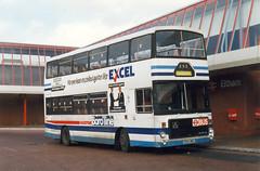 Diverted from Fife Scottish. (steve vallance coach and bus) Tags: e164omd volvob10m volvocitybus alexander borolinemaidstone eltham