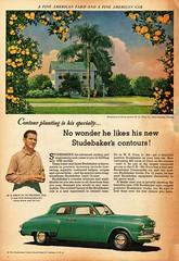 1948 Studebaker Commander 4-Door Sedan (aldenjewell) Tags: 1948 studebaker commander 4door sedan ad wk price jr orlando florida fl citrus grower farmer