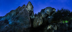 rocky outcrop (pbo31) Tags: california nikon d810 color night dark black october fall 2016 eastbay alamedacounty boury pbo31 berkeley indianrockpark rocky panoramic large stitched rocks peak panorama blue space earth sky outcrop