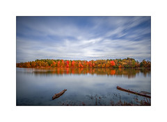Milne Dam Conservation Park - 2016 Fall (The Visioneer) Tags: park milne dam ontario nature autumn 2016 colours sunsetting outdoor serene landscape sky milnedamconservationpark milnepark fall river