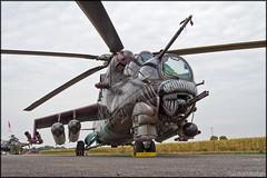"Mil Mi-24V ""Alien Tiger"" (Pavel Vanka) Tags: ciaf czechinternationalairfest lkhk hradeckralove czech czechrepublic airplane plane aircraft airshow spotting spot spotter helicopter mil mi24 mi24v mi35 hind attack attackhelicopter alien alientiger tiger tigercamo tigermeet czechairforce"