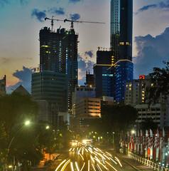 Surabaya Sparkling, almost (BxHxTxCx (more stuff, open the album)) Tags: surabaya city kota nightshoot fotomalam